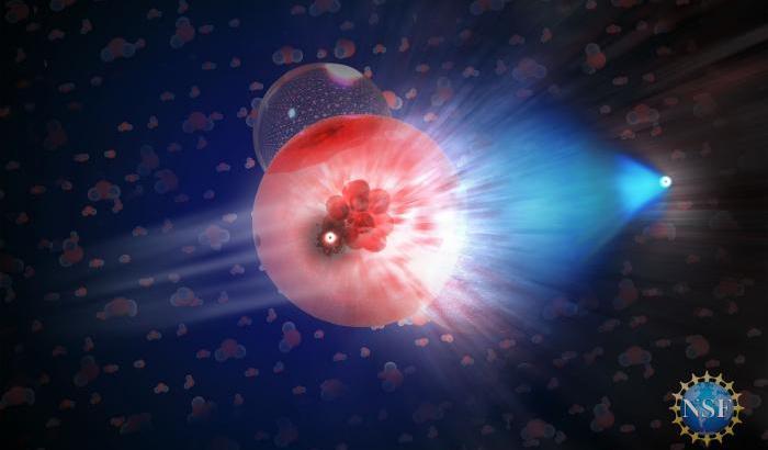 Neutrini e fotoni, per la prima volta dalla stessa sorgente cosmica