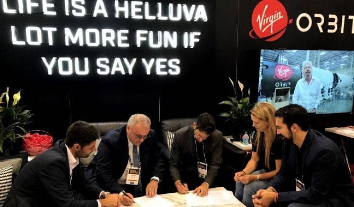 La Sitael si affida alla Virgin Orbit