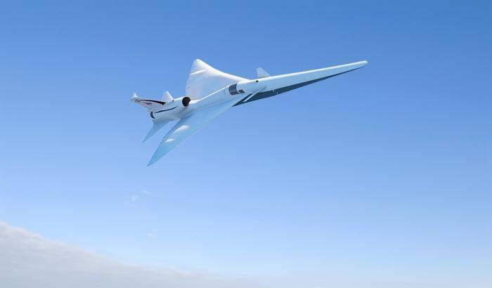 X-Plane, via libera al volo supersonico silenzioso
