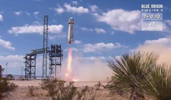 Blue Origin, volo suborbitale per la Crew Capsule 2.0
