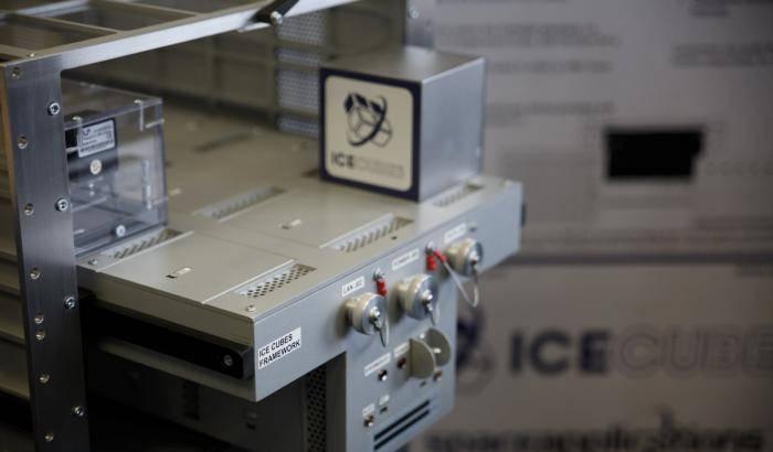 Ice Cubes, microgravità a portata di mano