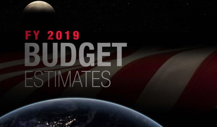Budget Nasa 2019, fondi in aumento