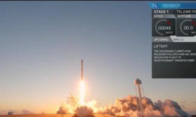 Falcon 9, stesso razzo al terzo riutilizzo