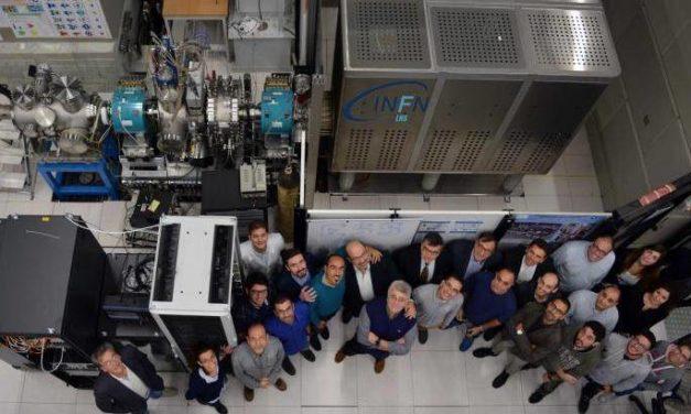 Ultimata la sorgente di protoni per Ess