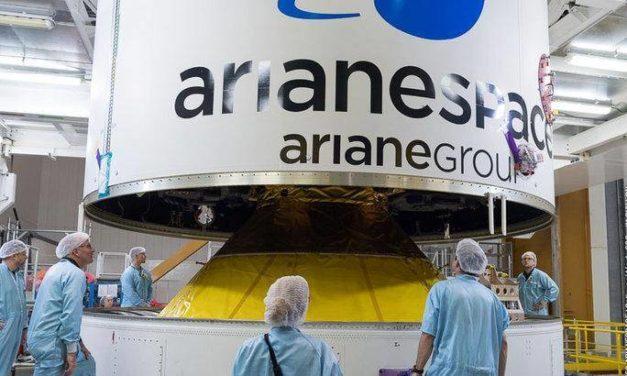 Galileo in rampa di lancio