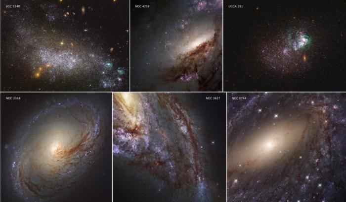 'Servizio fotografico' nell'ultravioletto per Hubble