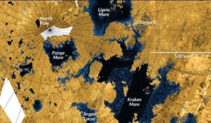 Titano: come è frizzante il mare