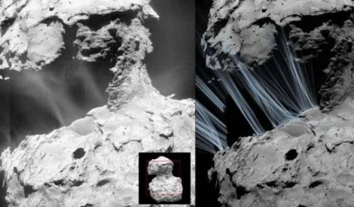 67P, nuove rivelazioni da Rosetta