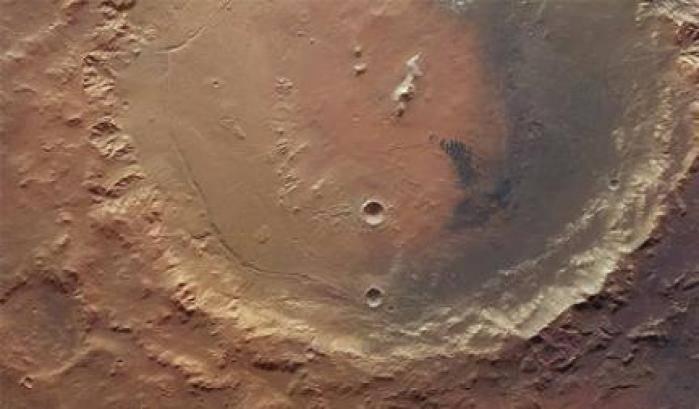 Microbi nel passato di Marte