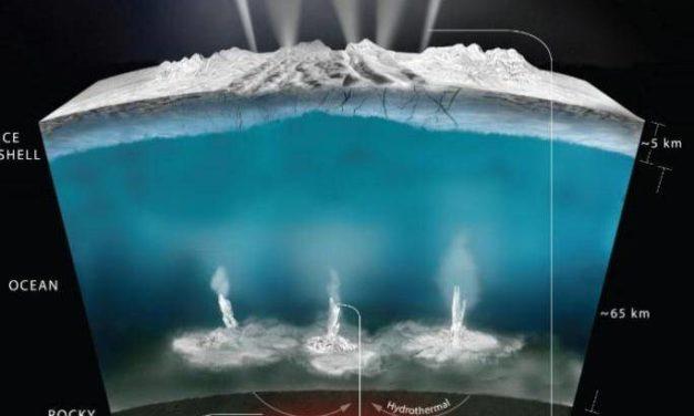 Encelado ed Europa nel Pacifico