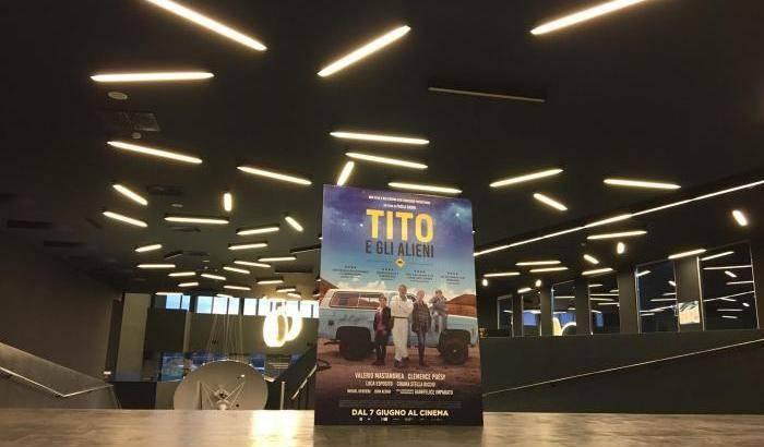 Tito e gli Alieni, l'anteprima in Asi