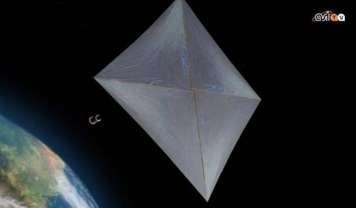 Su Proxima Centauri a vele spiegate