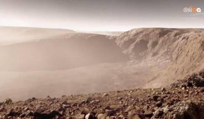 Marte, tempesta perfetta