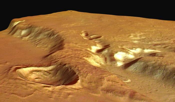 Su Marte eruzioni mai viste