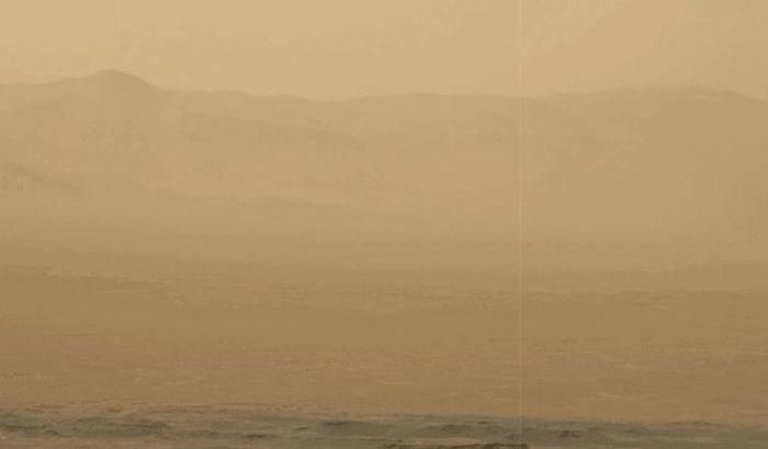 Marte, meteo in peggioramento