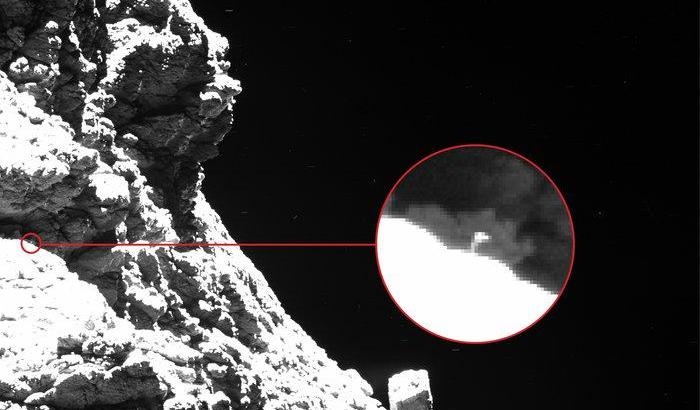 Atterrato Philae, l'Europa sbarca su una cometa