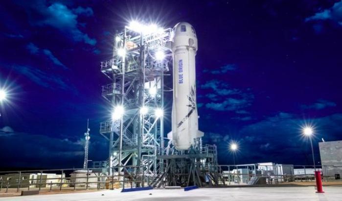 Biglietti in vendita per New Shepard: destinazione spazio
