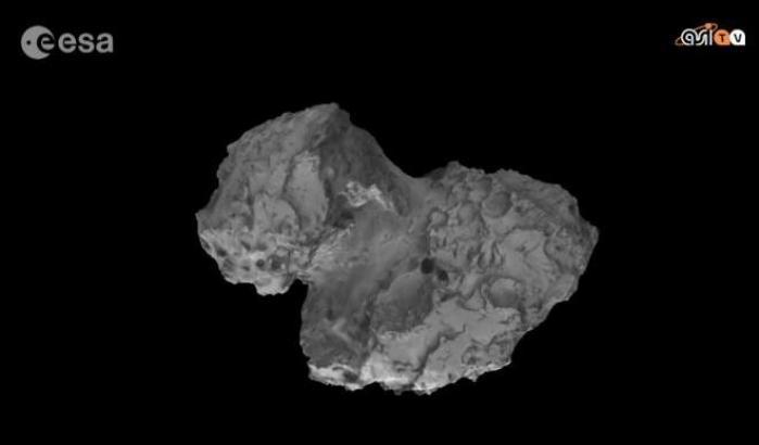 Centomila scatti per Rosetta