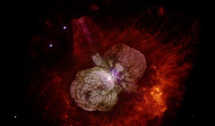 I raggi cosmici di Eta Carinae