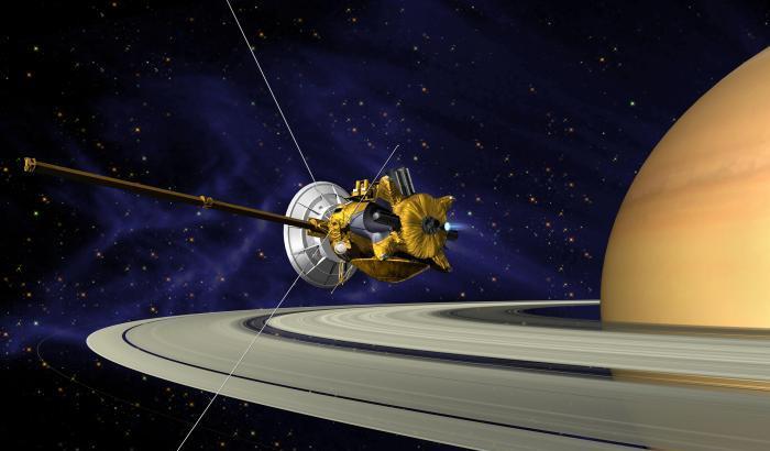 Cassini, melodia tra gli anelli