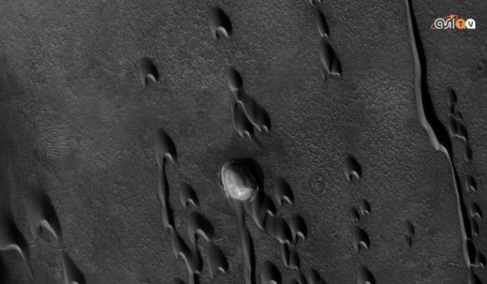 Dune fantasma su Marte