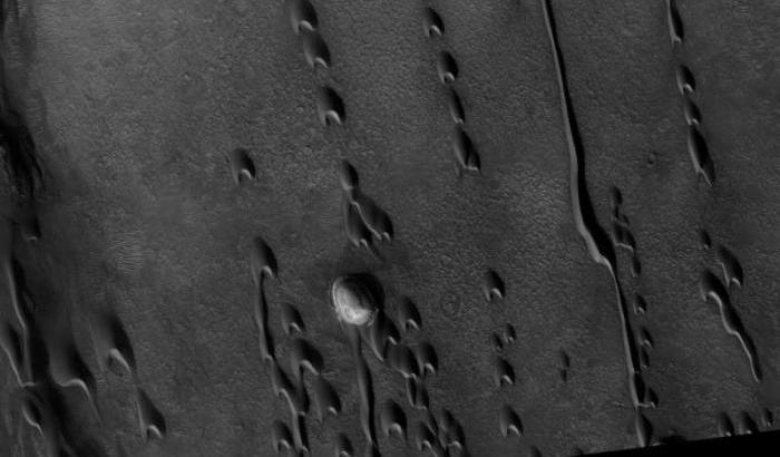 Le dune svelano indizi sul passato di Marte