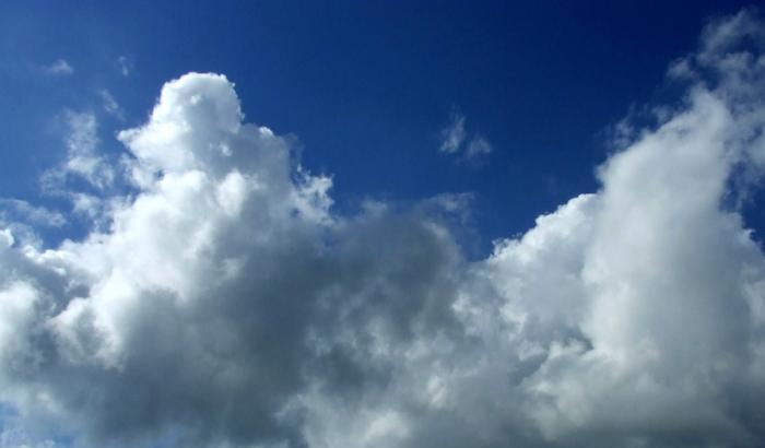 Nubi che corrono, clima che cambia