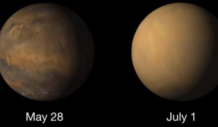 Marte, una squadra per monitorare la tempesta