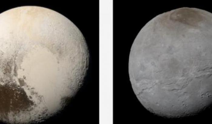 Plutone e Caronte al naturale