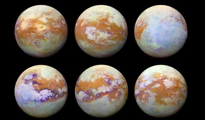 Cassini, scoperto il volto nascosto di Titano