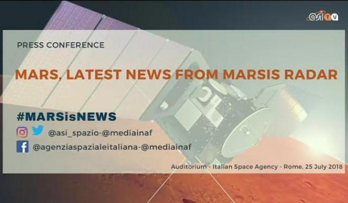 Conferenza stampa: Latest news from MARSIS radar