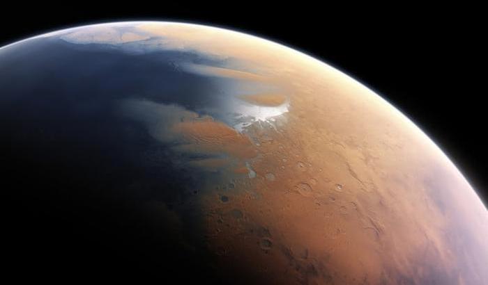 Sapore di sale su Marte