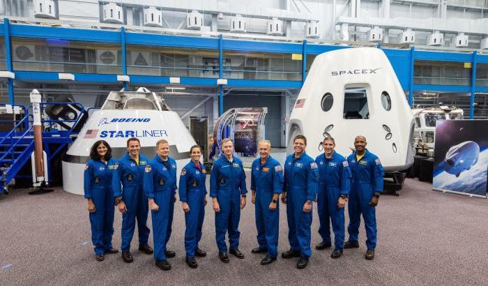 Dragon e Starliner, annunciati i 9 astronauti