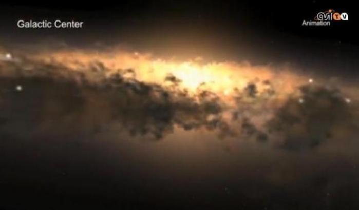 AsiTv Replay: Viaggio al centro della Via Lattea
