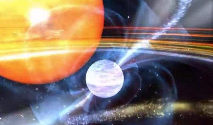 Radiazione galattica? Nasce dalle 'trottole cosmiche'
