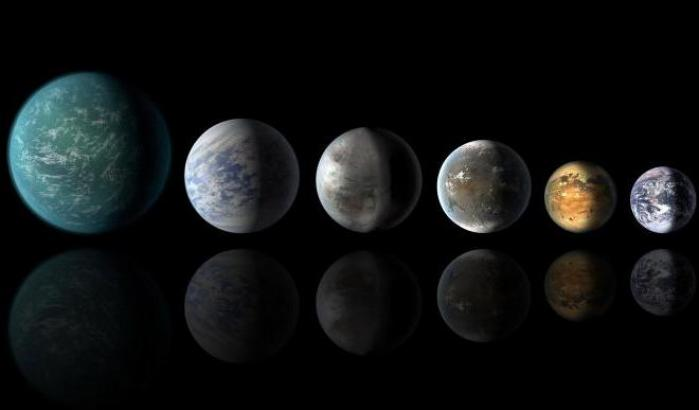 Vita extraterrestre: più acqua del previsto sui mondi distanti