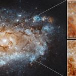 Una supernova splendente nel tempo