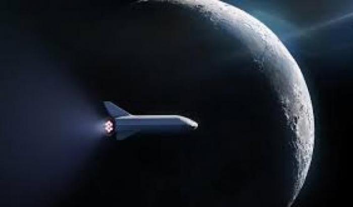 SpaceX e Nasa, corsa verso la Luna