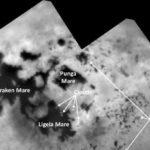 Cassini, viaggio tra i laghi di Titano