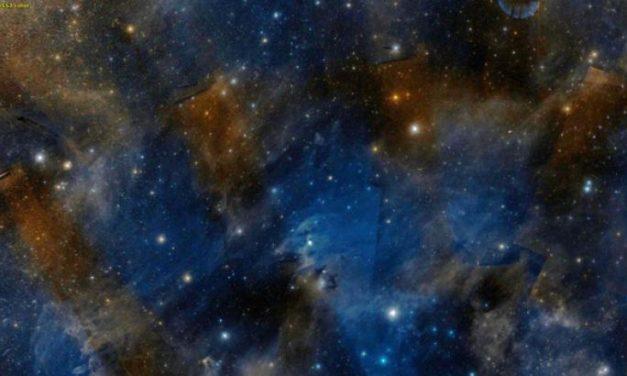 Gaia osserva l'esodo delle stelle nelle Vele e nel Camaleonte