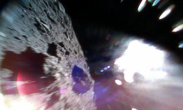 La sonda giapponese sull'asteroide Ryugu