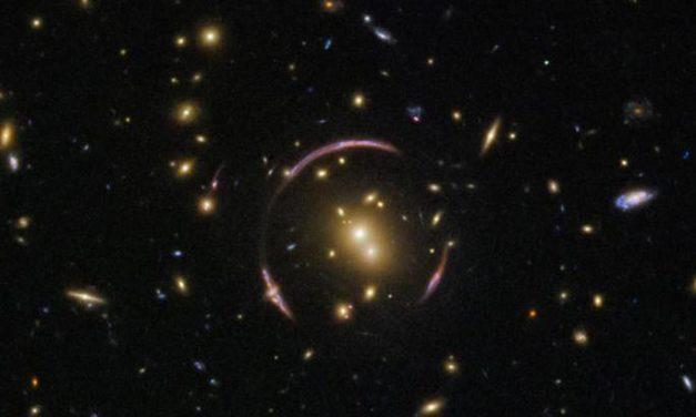 'Anello' cosmico per Hubble
