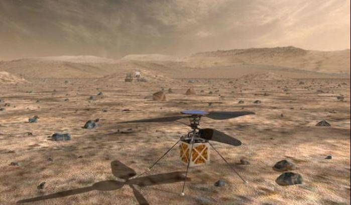 Mars Elicopter pronto per il volo