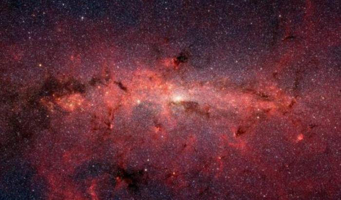 Illusione ottica nel cuore della Via Lattea