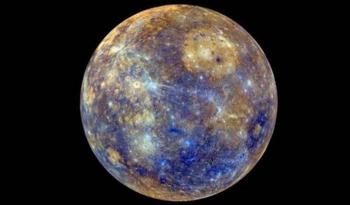 Coda agli elettroni per Mercurio