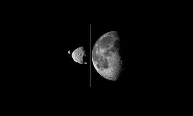 Come si sono formate le lune di Marte