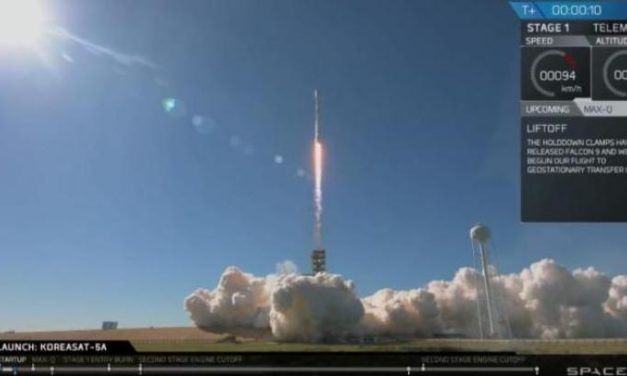 Falcon 9 a quota 16
