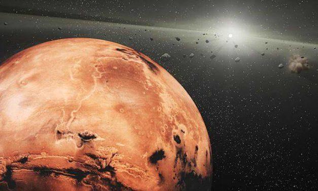 Frammenti marziani 'a spasso' nel Sistema Solare