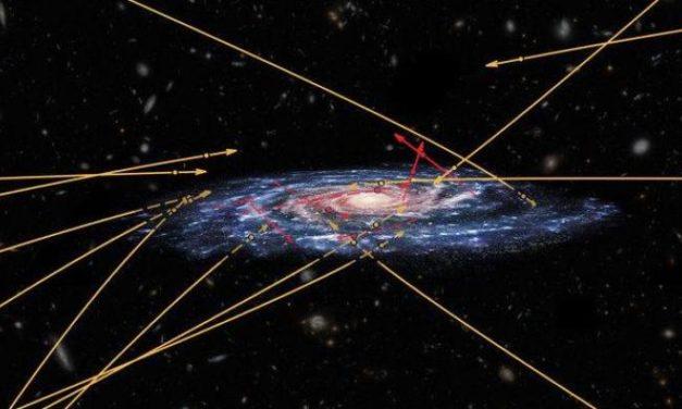Gaia e la corsa delle stelle contromano