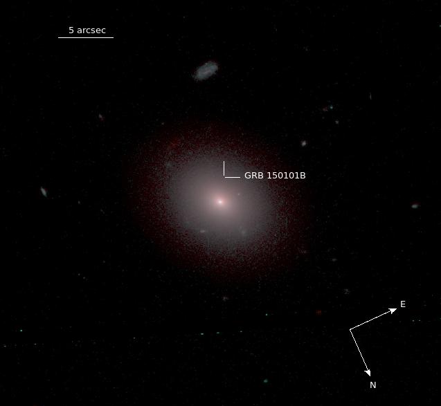 Scoperto il primo sosia di GW170817